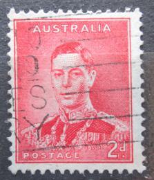 Poštovní známka Austrálie 1937 Král Jiøí VI. Mi# 142 A