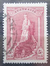 Poštovní známka Austrálie 1938 Královna Alžbìta Mi# 150 Dx