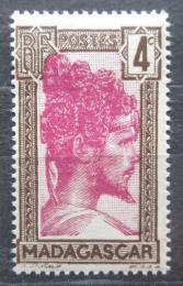Poštovní známka Madagaskar 1930 Domorodec Mi# 182