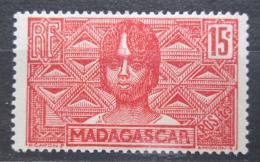 Poštovní známka Madagaskar 1930 Domorodkynì Mi# 185