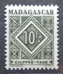 Poštovní známka Madagaskar 1947 Doplatní Mi# 39