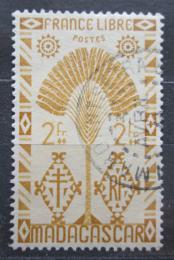 Poštovní známka Madagaskar 1943 Strom cestovatelù Mi# 358