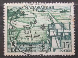 Poštovní známka Madagaskar 1956 Hydraulické zavodòování Mi# 434