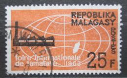 Poštovní známka Madagaskar 1963 Mezinárodní veletrh Mi# 490