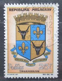 Poštovní známka Madagaskar 1963 Znak Antananarivo Mi# 515
