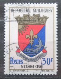 Poštovní známka Madagaskar 1966 Znak Nossi-Bé Mi# 516