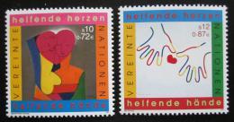 Poštovní známky OSN Vídeò 2001 Moderní umìní Mi# 331-32