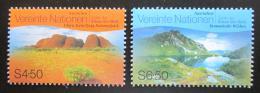 Poštovní známky OSN Vídeò 1999 Národní parky Mi# 279-80