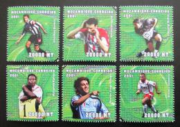 Poštovní známky Mosambik 2001 MS ve fotbale Mi# 1871-76 10€