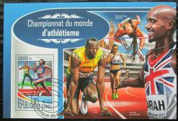 Poštovní známka Guinea 2017 MS v lehlé atletice Mi# Block 2848 Kat 20€