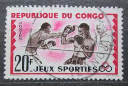 Poštovní známka Kongo 1962 Box Mi# 22