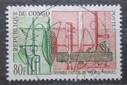 Poštovní známka Kongo 1964 Ruèní práce Mi# 44