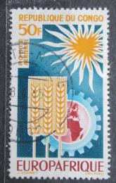 Poštovní známka Kongo 1964 EUROPAFRIQUE Mi# 51