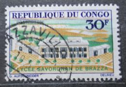 Poštovní známka Kongo 1966 Gymnázium Savorgnan de Brazza Mi# 108