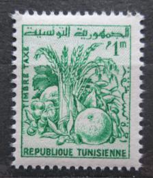 Poštovní známka Tunisko 1960 Zemìdìlské produkty, doplatní Mi# 75
