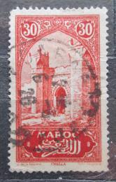 Poštovní známka Francouzské Maroko 1923 Mìstská brána Mi# 59