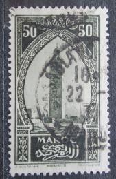 Poštovní známka Francouzské Maroko 1927 Vìž v Marakéši Mi# 65