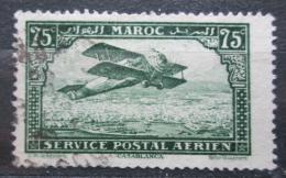 Poštovní známka Francouzské Maroko 1922 Letadlo Mi# 42
