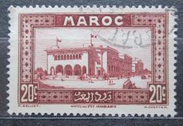 Poštovní známka Francouzské Maroko 1933 Hlavní pošta, Casablanca Mi# 99