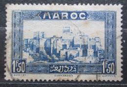 Poštovní známka Francouzské Maroko 1933 Hrad Kasbah Tifoultoute Mi# 110