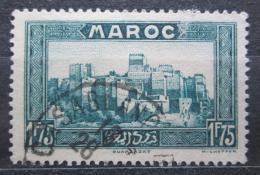 Poštovní známka Francouzské Maroko 1934 Hrad Kasbah Tifoultoute Mi# 111