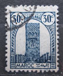 Poštovní známka Francouzské Maroko 1943 Hassanova vìž v Rabatu Mi# 189