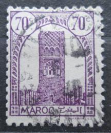 Poštovní známka Francouzské Maroko 1943 Hassanova vìž v Rabatu Mi# 193