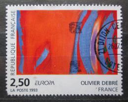 Poštovní známka Francie 1993 Evropa CEPT, umìní, Olivier Debré Mi# 2943