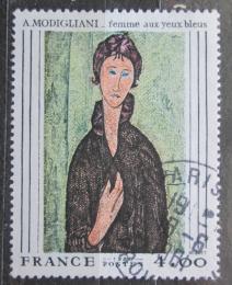 Poštovní známka Francie 1980 Umìní, Amedeo Modigliani Mi# 2227