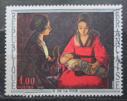 Poštovní známka Francie 1966 Umìní, Georges de La Tour Mi# 1552
