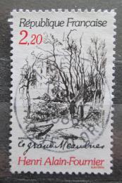 Poštovní známka Francie 1986 Román od Alain-Fournier Mi# 2576