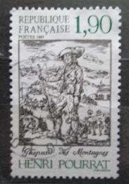 Poštovní známka Francie 1987 Román od Henri Pourrat Mi# 2606
