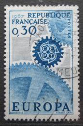 Poštovní známka Francie 1967 Evropa CEPT Mi# 1578