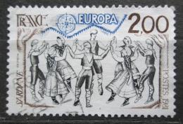 Poštovní známka Francie 1981 Evropa CEPT, lidový tanec Mi# 2260