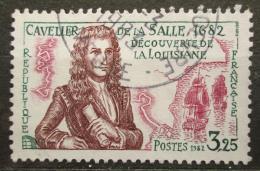 Poštovní známka Francie 1982 René Robert Cavelier de La Salle Mi# 2372