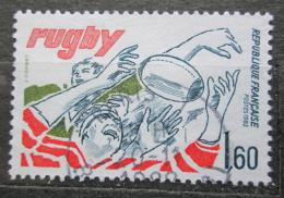 Poštovní známka Francie 1982 Rugby Mi# 2355