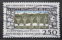 Poštovní známka Francie 1991 Kongres lesního hospodáøství Mi# 2857