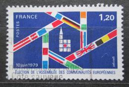 Poštovní známka Francie 1979 Volby do Evropského parlamentu Mi# 2154