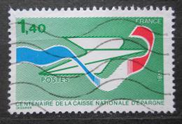 Poštovní známka Francie 1981 Poštovní spoøitelna, 100. výroèí Mi# 2282