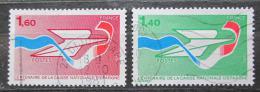 Poštovní známky Francie 1981 Poštovní spoøitelna, 100. výroèí Mi# 2282-83