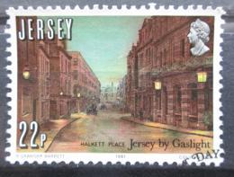 Poštovní známka Jersey 1981 Osvìtlení ulic Mi# 260