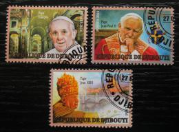 Poštovní známky Džibutsko 2014 Kanonizace papežù Mi# N/N