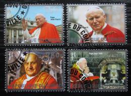 Poštovní známky Kongo 2014 Kanonizace papežù Mi# N/N