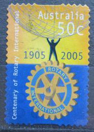 Poštovní známka Austrálie 2005 Rotary Intl., 100. výroèí Mi# 2453