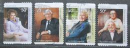 Poštovní známky Austrálie 2008 Osobnosti Mi# 2923-26