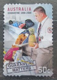 Poštovní známka Austrálie 2008 Zákon o psí karanténì Mi# 3035