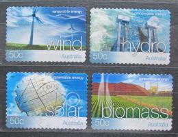 Poštovní známky Austrálie 2004 Energetické zdroje Mi# 2302-05