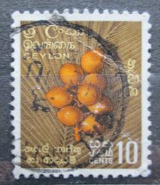 Poštovní známka Cejlon 1958 Kokosové oøechy Mi# 299