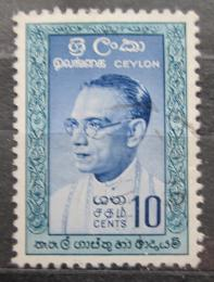 Poštovní známka Cejlon 1961 Premiér Bandaranaike Mi# 316 I