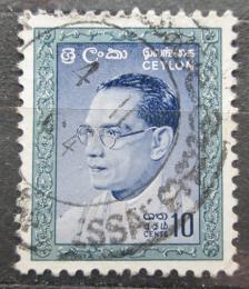 Poštovní známka Cejlon 1964 Premiér Bandaranaike Mi# 326